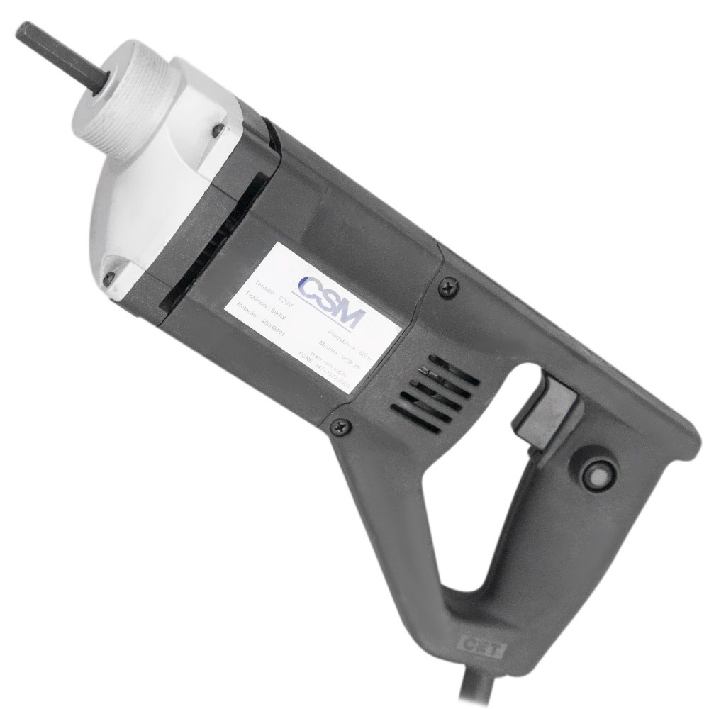 Vibrador De Concreto Portátil VCP 35 Monofásico - Csm